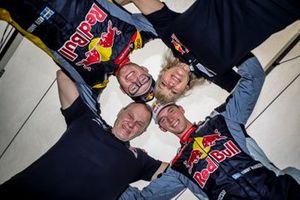 Kevin Hansen, Hansen World RX Team Peugeot 208, Timmy Hansen, Hansen World RX Team Peugeot 208 with the parents
