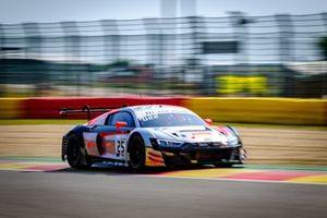 #25 Audi Sport Team Sainteloc Audi R8 LMS GT3 2019: Markus Winkelhock, Frédéric Vervish, Christopher Haase
