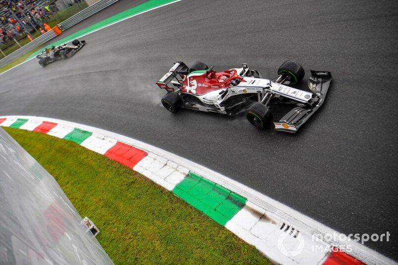13 - Kimi Raikkonen, Alfa Romeo Racing C38 - Sem tempo no Q3