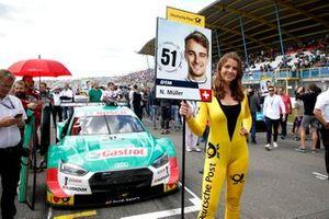 Grid girl de Nico Müller, Audi Sport Team Abt Sportsline