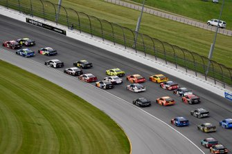 Renn-Action auf dem Chicagoland Speedway in Joliet