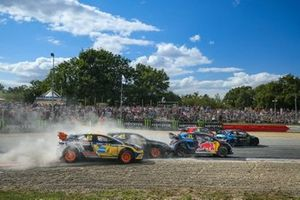 Anton Marklund, GC Competition, Timmy Hansen, Team Hansen MJP, Andreas Bakkerud, Monster Energy RX Cartel