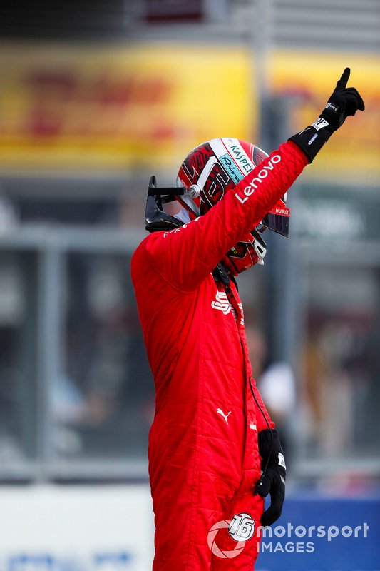 Charles Leclerc, Ferrari, pole pozisyonu