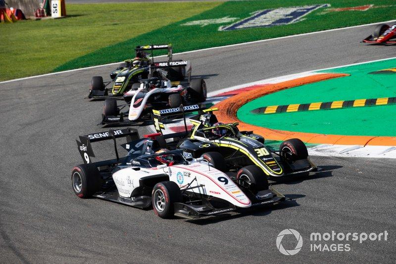 Raoul Hyman, Sauber Junior Team by Charouz e Felipe Drugovich, Carlin Buzz Racing