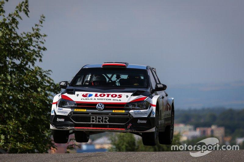 Kajetan Kajetanowicz/Maciej Szczepaniak, VW Polo R5