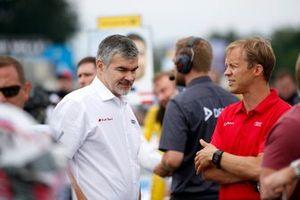 Глава DTM Audi Sport Дитер Гасс и Маттиас Экстрём