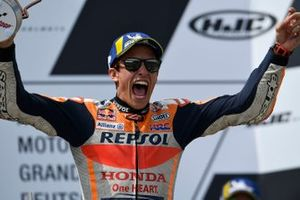 Podium : Marc Marquez, Repsol Honda Team, vainqueur