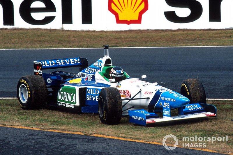 Gerhard Berger, Benetton, al GP del Giappone del 1996