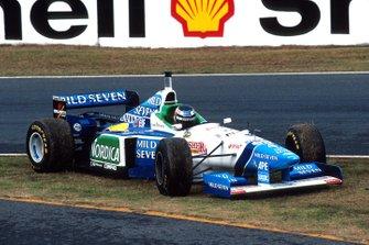 Ausritt: Gerhard Berger, Benetton B196