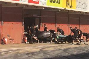 Test Pirelli a Barcellona