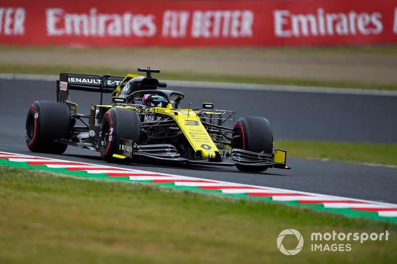 6 - Daniel Ricciardo, Renault F1 Team R.S.19 (Renault está siendo investigado tras protesta de Racing Point)