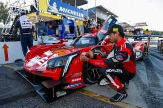 Ganador de la pole #31 Whelen Engineering Racing Cadillac DPi, DPi: Felipe Nasr