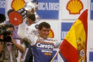 Sito Pons, Campsa Honda, al GP del Brasile del 1989