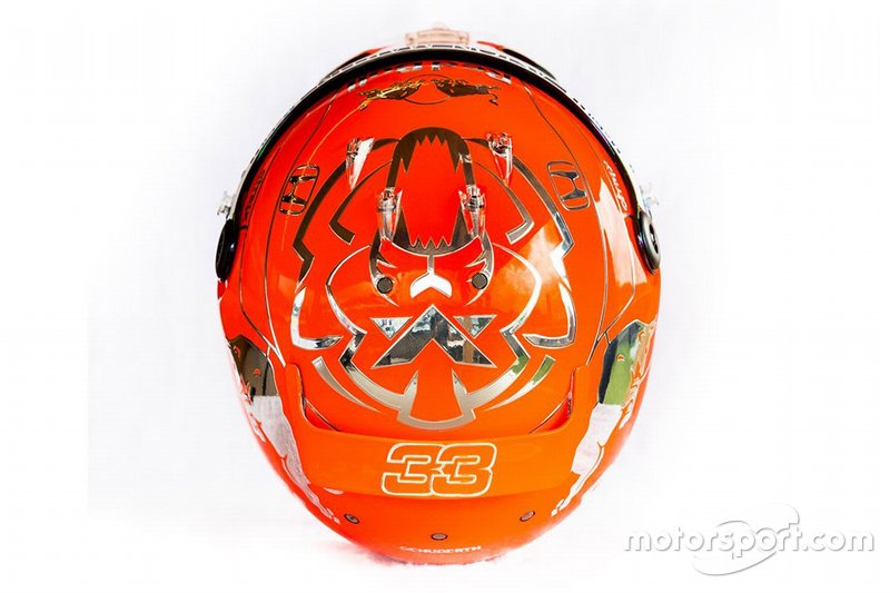 Casco de Max Verstappen, Red Bull Racing