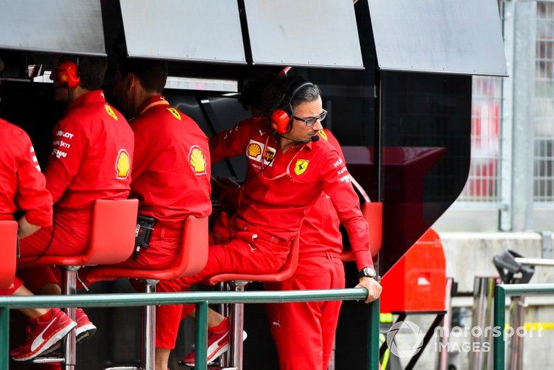 Laurent Mekies, Sporting Director, Ferrari,