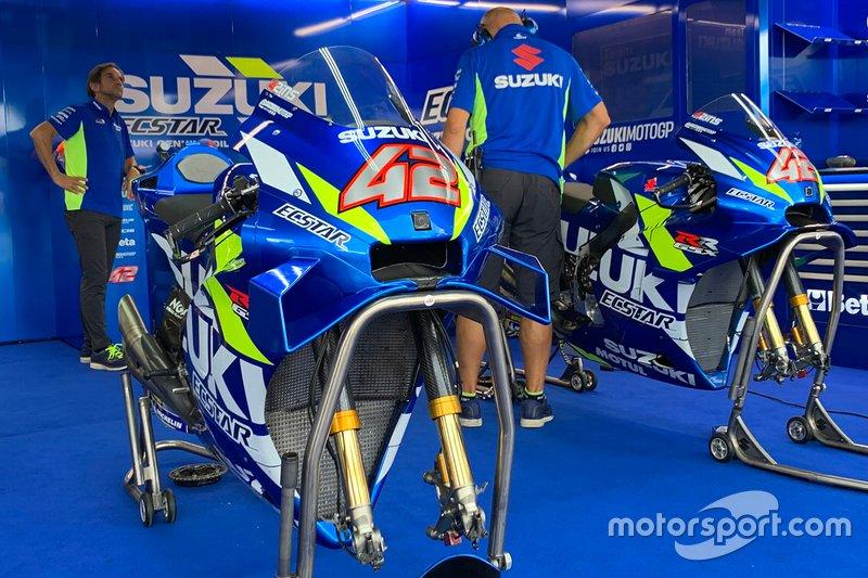 Motos del Team Suzuki MotoGP