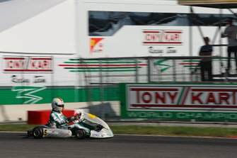 Sebastian Vettel prueba para Tony Kart