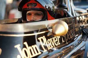 Emerson Fittipaldi, Lotus 72D Ford, al GP d'Italia del 1972