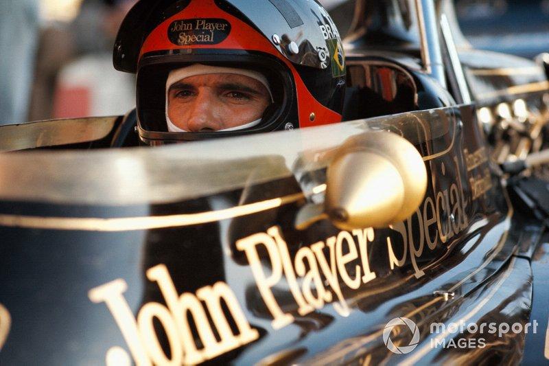 1972: Emerson Fittipaldi, Lotus - (Corrida não oficial da F1 em Interlagos)