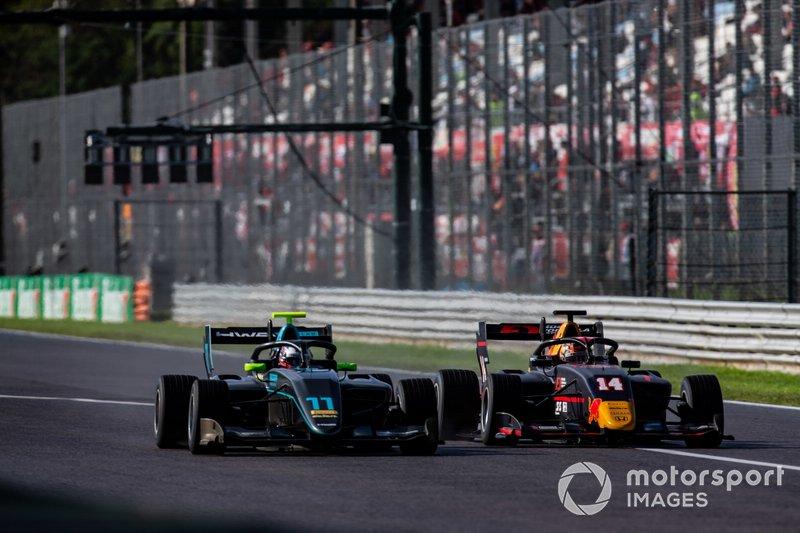 Jake Hughes, HWA RACELAB e Yuki Tsunoda, Jenzer Motorsport