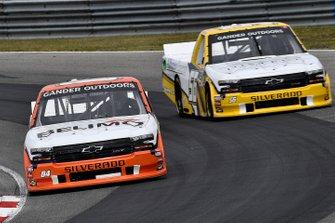 Roger Reuse, Roper Racing, Ford F-150 2019 Preferred Industrial Contractors Inc. and Bobby Reuse, Hill Motorsports, Chevrolet Silverado WCIparts.com