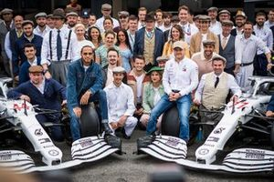 Lewis Hamilton, Mercedes AMG F1, Toto Wolff, Executive Director (Business), Mercedes AMG, Esteban Ocon, Mercedes AMG F1, Valtteri Bottas, Mercedes AMG F1 and Esteban Gutierrez, Mercedes AMG F1 during Mercedes AMG F1 team photographer to celebrate 125th year in motorsport