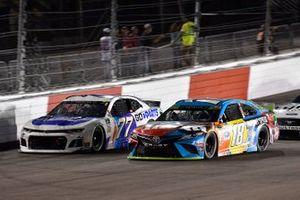Reed Sorenson, Spire Motorsports, Chevrolet Camaro Go-Parts.com, Kyle Busch, Joe Gibbs Racing, Toyota Camry M&M's Hazelnut