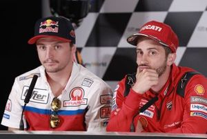 Джек Миллер, Alma Pramac Racing, и Андреа Довициозо, Ducati Team
