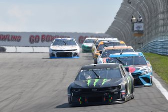 Kurt Busch, Chip Ganassi Racing, Chevrolet Camaro Monster Energy, Kyle Busch, Joe Gibbs Racing, Toyota Camry M&M's Hazelnut
