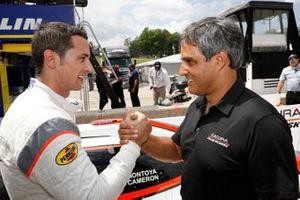 Ganador del Premio Motul Pole de la DPI #6 Acura Team Penske Acura DPi, DPi: Dane Cameron, Juan Pablo Montoya