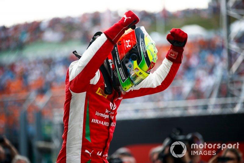 El ganador: Mick Schumacher, Prema Racing