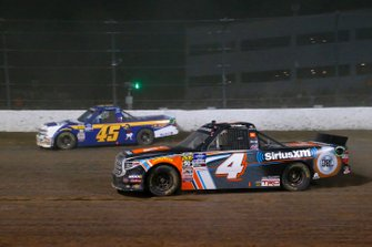 Todd Gilliland, Kyle Busch Motorsports, Toyota Tundra JBL/SiriusXM and Ross Chastain, Niece Motorsports, Chevrolet Silverado Niece/Jack Hewitt Tribute