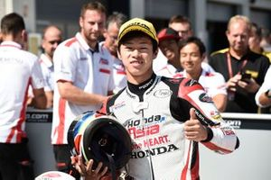 Second place Ai Ogura, Honda Team Asia