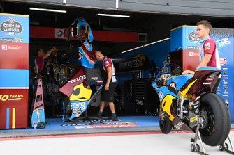 Marc VDS Racing garage atmosphere