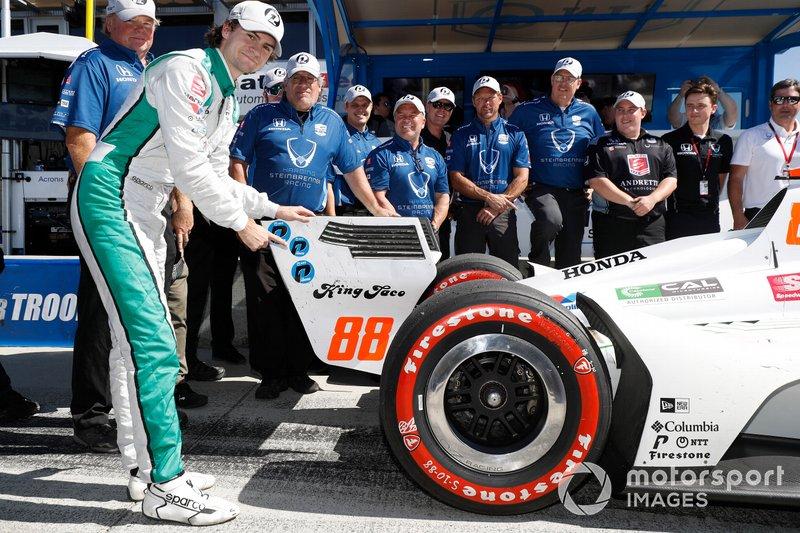 Laguna Seca, Colton Herta-Harding Steinbrenner Racing