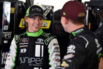 Brandon Jones, Joe Gibbs Racing, Toyota Supra Juniper and Riley Herbst, Joe Gibbs Racing, Toyota Supra Monster Energy