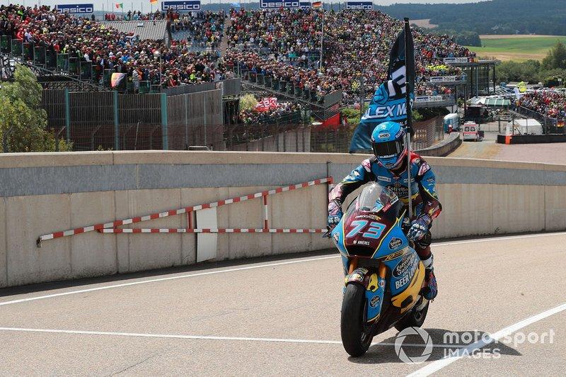 Ganador, Alex Marquez, Marc VDS Racing