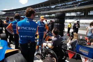 Scott Dixon, Chip Ganassi Racing Honda, Robert Wiockens