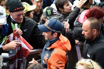 Johann Zarco, Red Bull KTM Factory Racing with fans