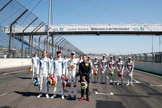 Rookies 2019, Ferdinand Habsburg, R-Motorsport, Jake Dennis, R-Motorsport, Shelton van der Linde, BMW Team RBM, Jonathan Aberdein, Audi Sport Team WRT