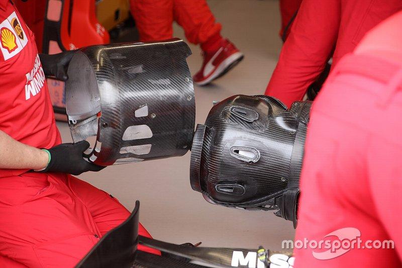 Ferrari front assembly