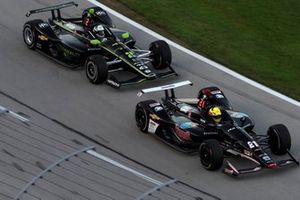 Spencer Pigot, Ed Carpenter Racing Chevrolet, Josef Newgarden, Team Penske Chevrolet