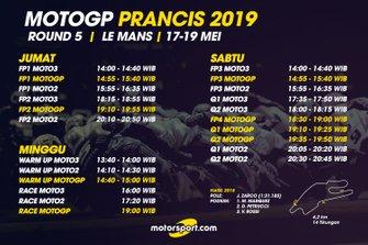 Jadwal MotoGP Prancis 2019