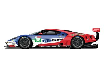 Ford GT livery for the 24h of Le Mans