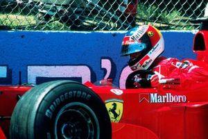Michael Schumacher, Ferrari en el muro de los campeones