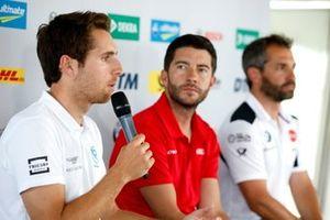 Basın toplantısı, Daniel Juncadella, R-Motorsport, Mike Rockenfeller, Audi Sport Team Phoenix, Timo Glock, BMW Team RMG