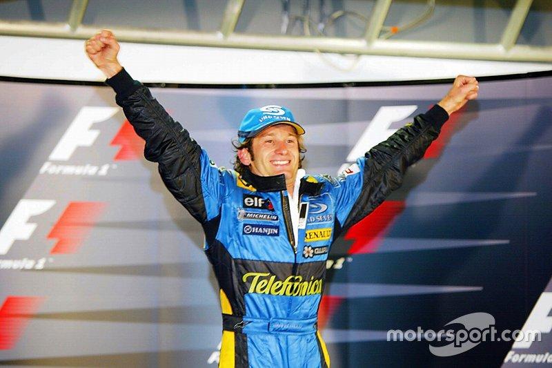 Race winner Jarno Trulli at Monaco GP