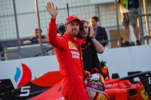 Sebastian Vettel, Ferrari, après les qualifications