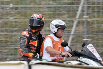 Jorge Martin, KTM Ajo, after crash