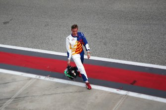 Diego Bertonelli, Dinamic Motorsport, in pit lane